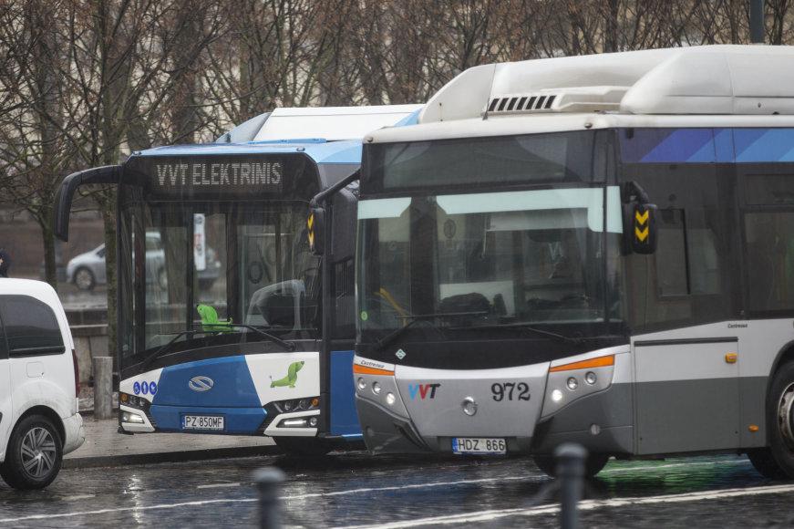 Žygimanto Gedvilos / 15min nuotr./Naujas elektinis autobusas