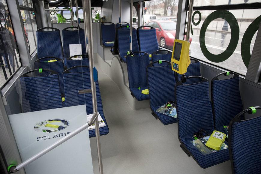Žygimanto Gedvilos / 15min nuotr./Naujas elektrinis autobusas