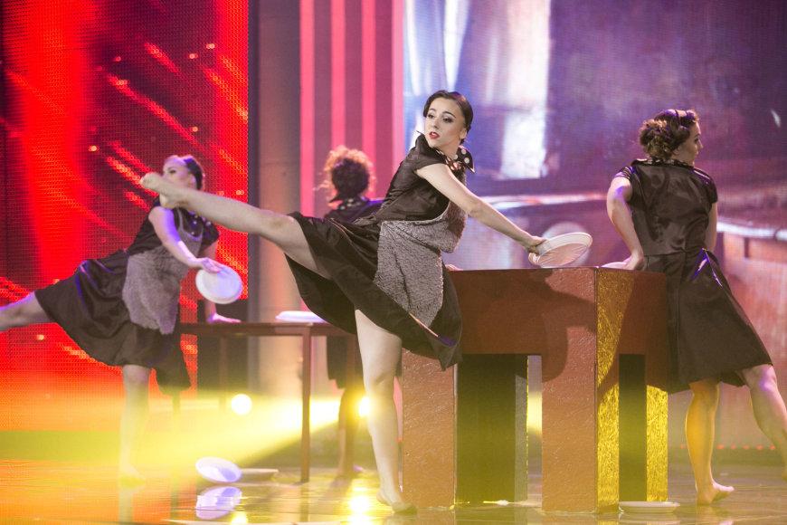 "Žygimanto Gedvilos / 15min nuotr./""Lietuvos talentų"" finalo akimirka"