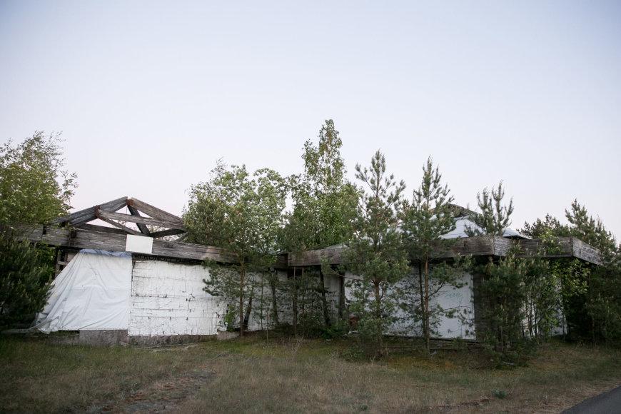 Žygimanto Gedvilos / 15min nuotr./Apleistas pastatas Nidoje