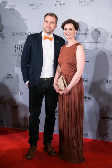 Juliaus Kalinsko / 15min nuotr./Kristina Savickytė-Damanskienė su vyru