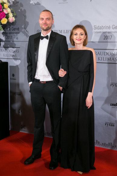 Juliaus Kalinsko / 15min nuotr./Tadas Vidmantas su žmona Lina