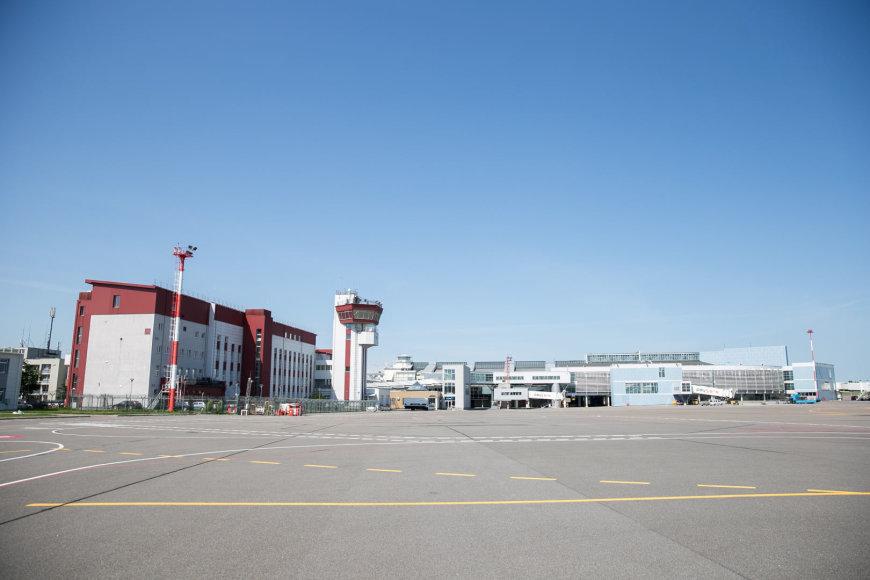 Žygimanto Gedvilos / 15min nuotr./Ištuštėjęs Vilniaus oro uostas