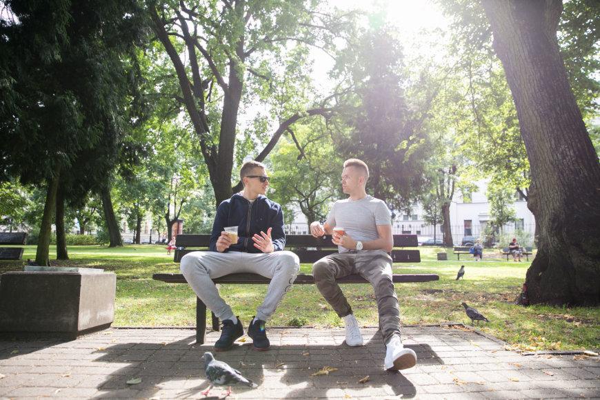Žygimanto Gedvilos / 15min nuotr./Kasparas Vecvagaras ir Donatas Urbonas