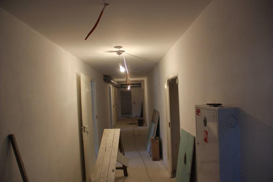 Naujasis jaunimo centras remonto metu