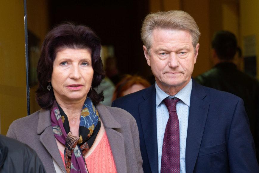 Josvydo Elinsko / 15min nuotr./Rolandas Paksas su žmona Laima