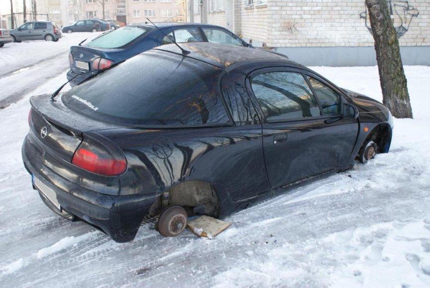 Opel Tigra be ratlankių