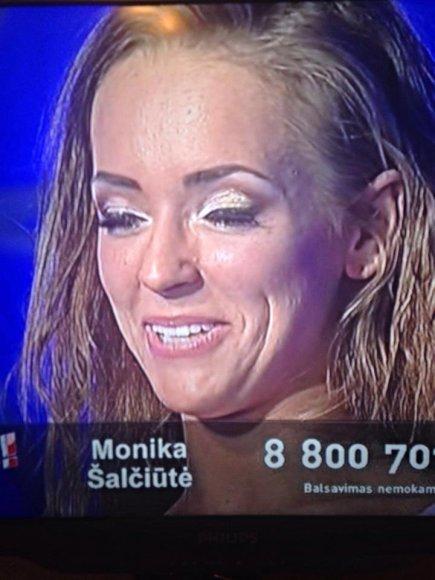 Monikos Šalčiūtės reakcija