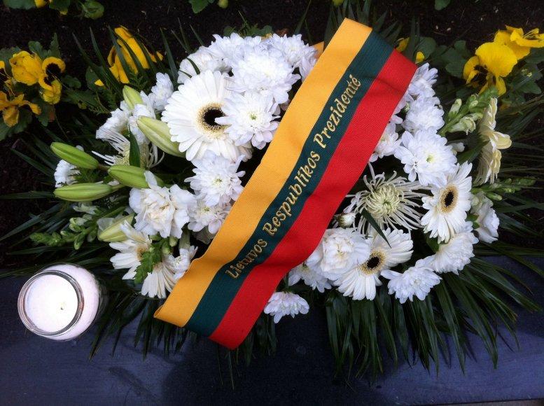 Dalios Grybauskaitės gėlės