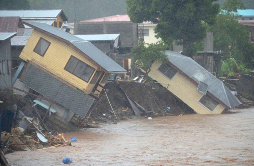 Potvynis Saliamono salose