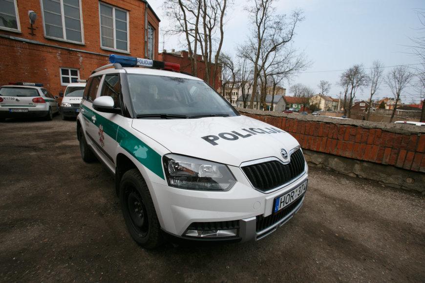 """Policijos """"Škoda Yeti"""""""