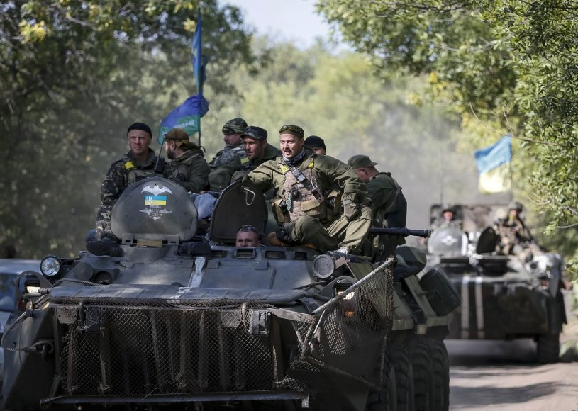 Ukrainos kariai Kramatorske