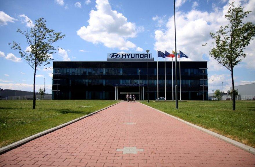 """""""Hyundai"""" gamykla Čekijoje"""
