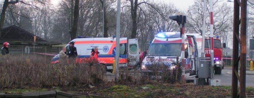 Po kraupios avarijos BMW apvirto