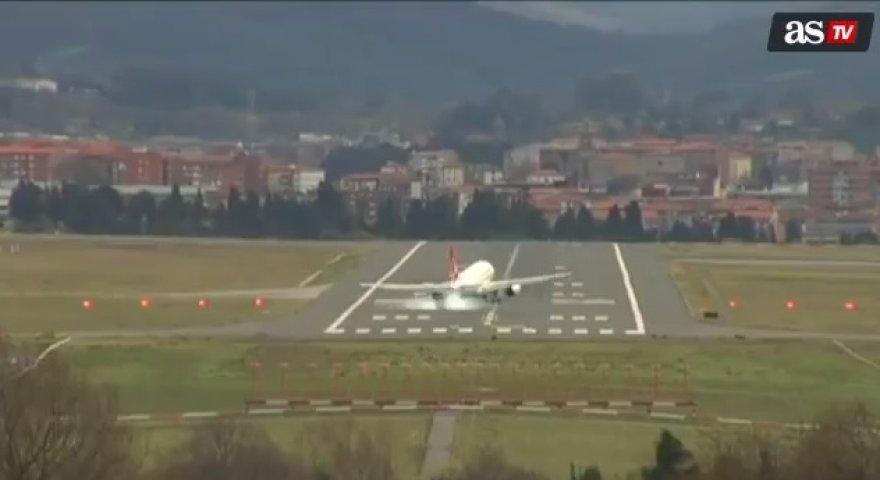 Lėktuvo nusileidimas