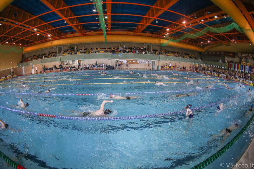 Jaunučių plaukimo žaidynės vyko Alytaus baseine