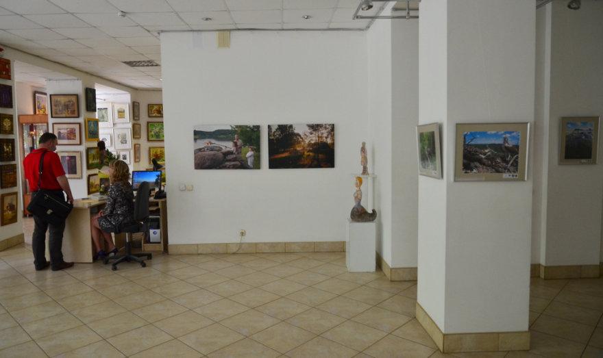 Keliaujančios fotografijų parodos dalis. Organizatorių nuotr.