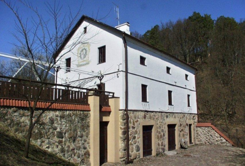 Restauruotas Verkių malūnas
