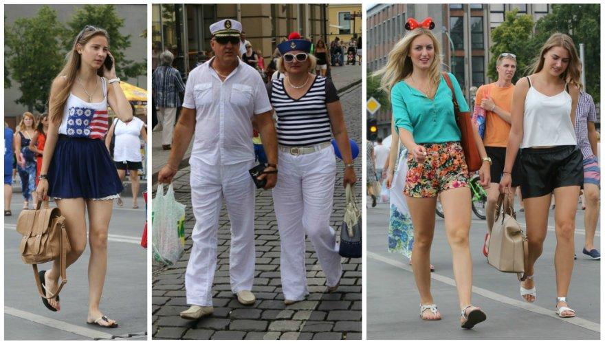 Spalvingas Jūros šventės svečių stilius
