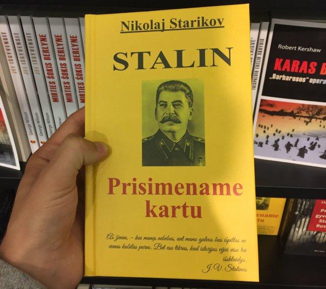 """Nikolajaus Starikovo knyga """"Stalin: Prisiminkime kartu"""""""