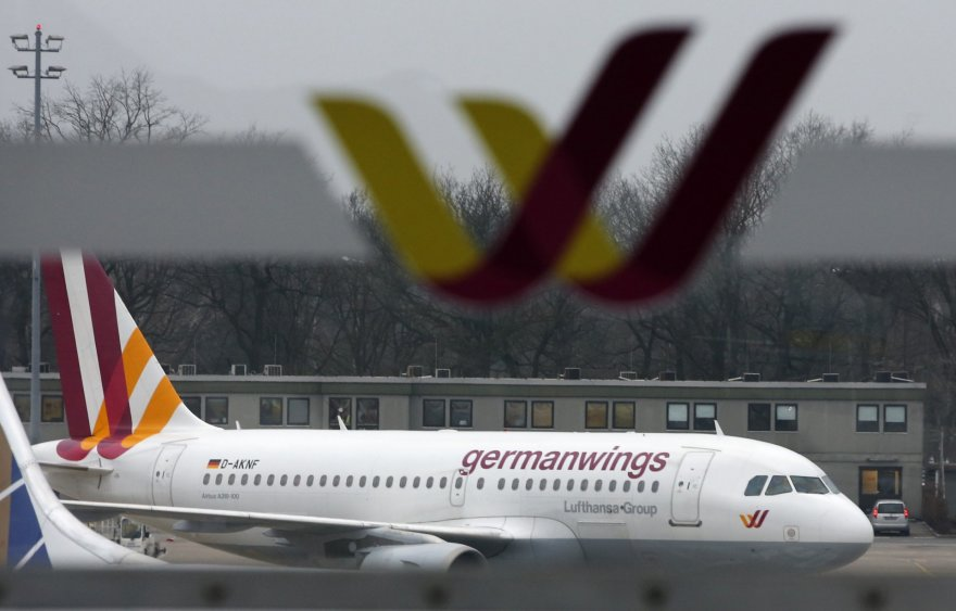 """Germanwings"" lėktuvas."