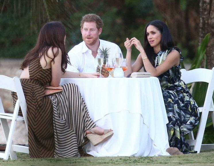 Princas Harry ir Meghan Markle draugų vestuvėse Jamaikoje
