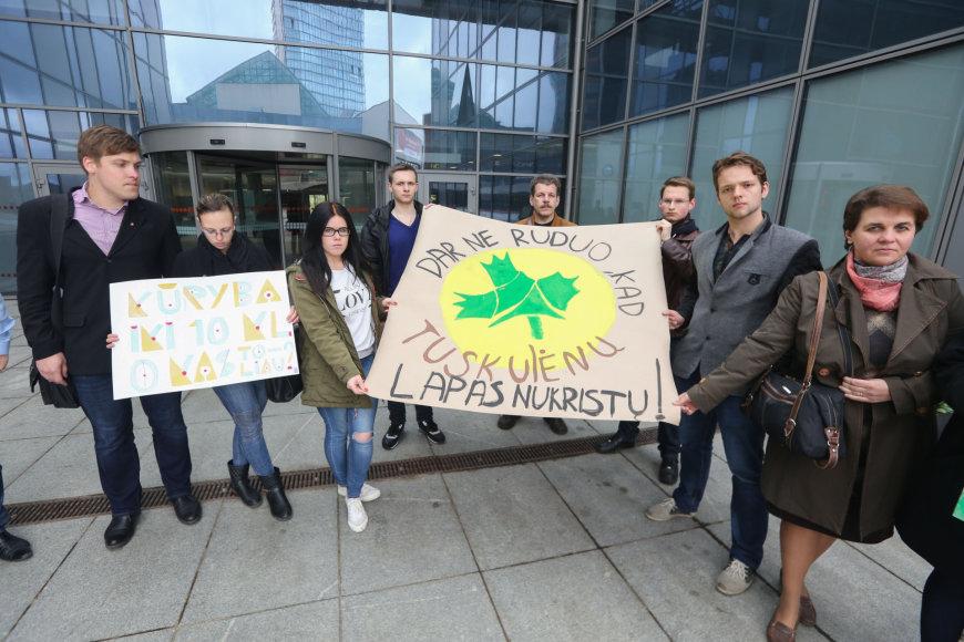 Tuskulėnų vidurinės mokyklos protestas