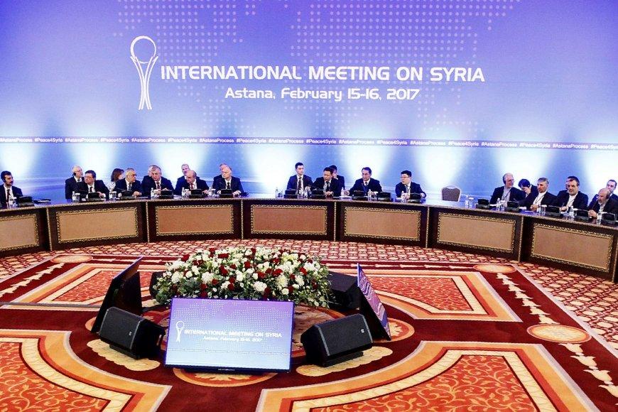 Ankstesnis derybų Astanoje etapas