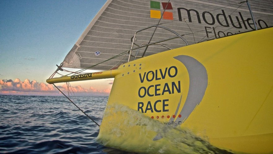 """Volvo Ocean Race"" regata, ""Team Brunel"" komanda ir Rokas Milevičius"