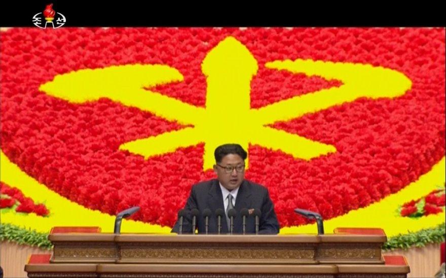 Šiaurės Korėjos valdančios partijos suvažiavimas