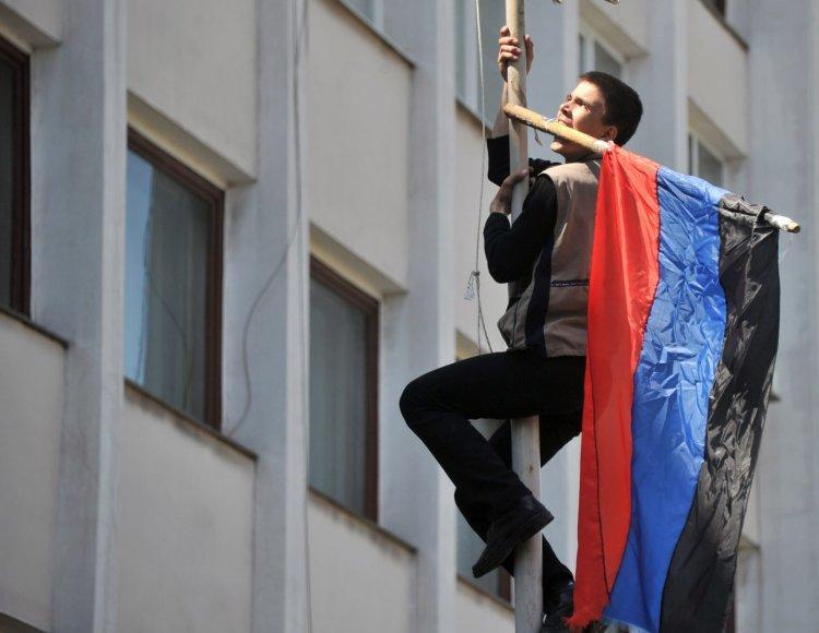 Prorusiškas aktyvistas Mariupolio mieste