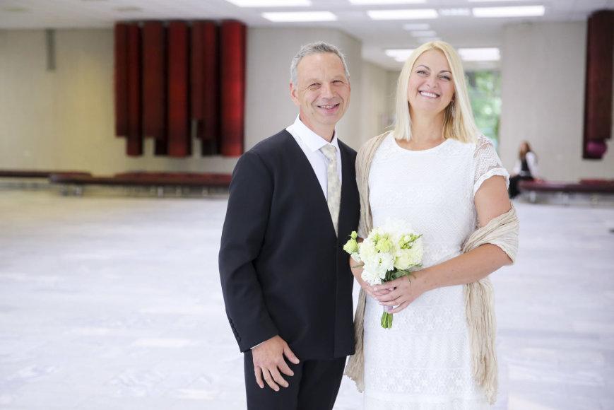 Pavelo Giunterio ir Eglės Tomkevičienės vestuvės