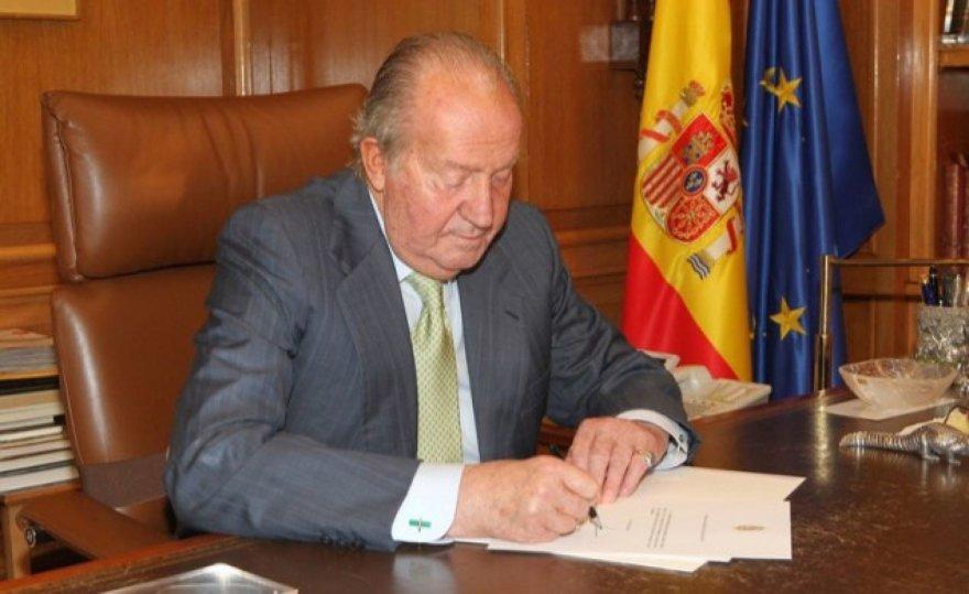 Atistatydino Ispanijos karalius Juanas Carlosas