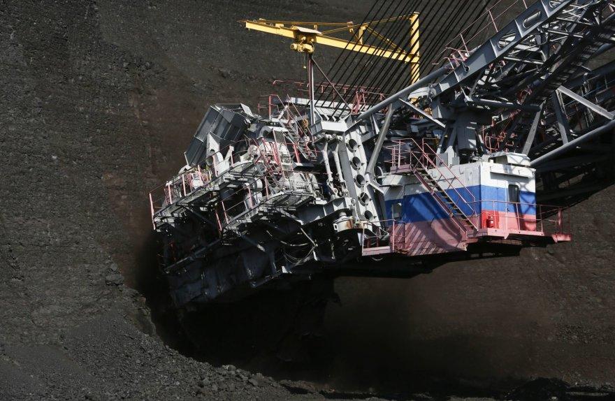 Akmens anglių kasykla Krasnojarske