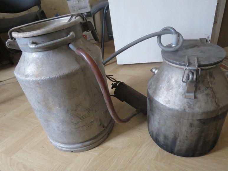 Naminės degtinės aparatas