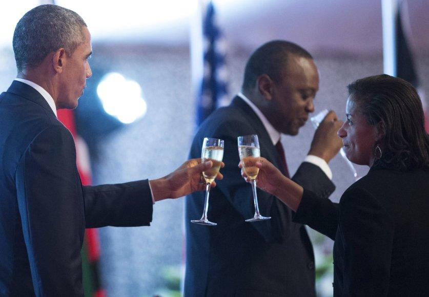 Barackas Obama ir Susan Rice