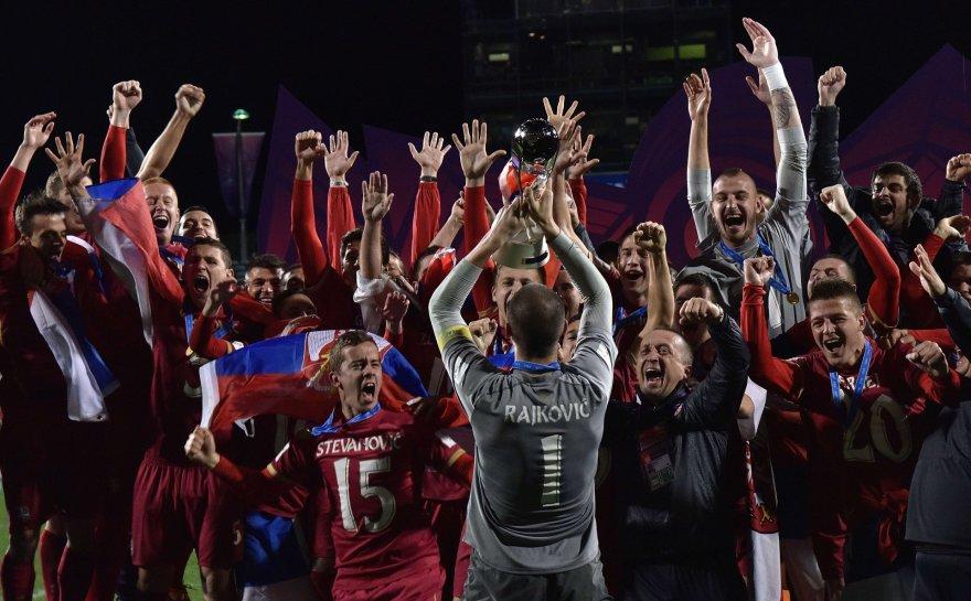 Serbijos jaunimo futbolo rinktinė