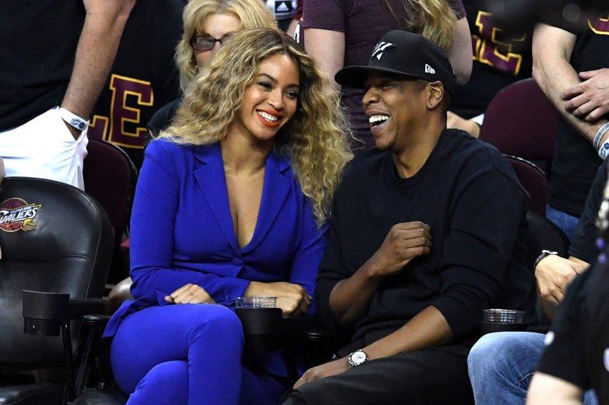 "AFP/""Scanpix"" nuotr./Beyonce ir Jay Z"