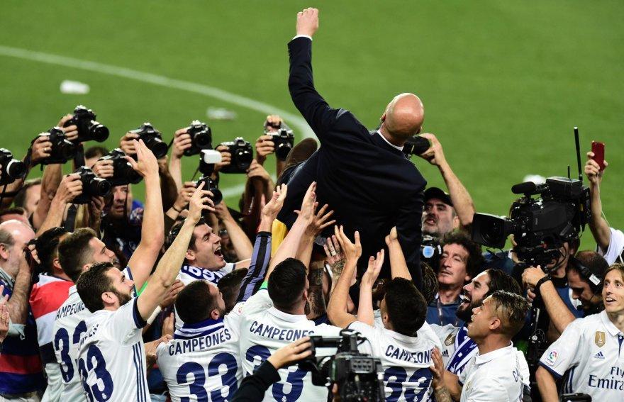 """""""Real"""" triumfas Ispanijos čempionate"""