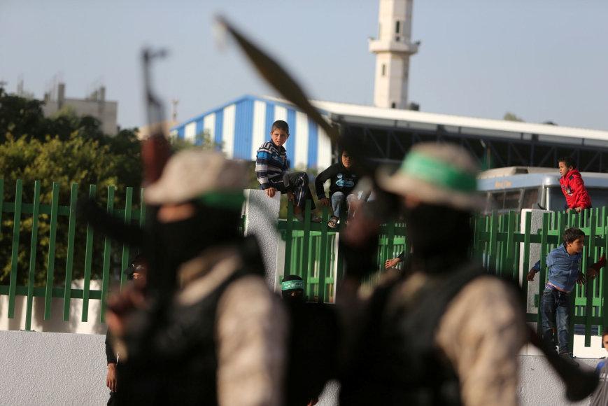 """""""Hamas"""" kovotojai"""