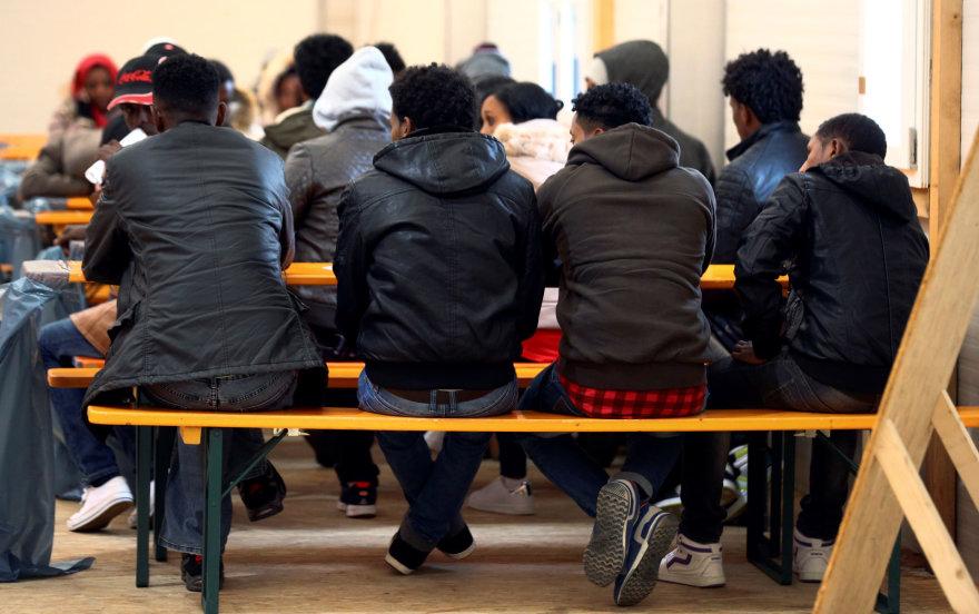 Migrantai Vokietijoje