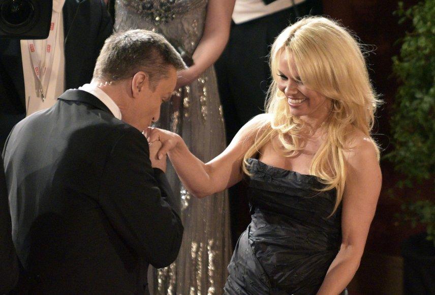 Pamela Anderson ir Alfonsas Haideris