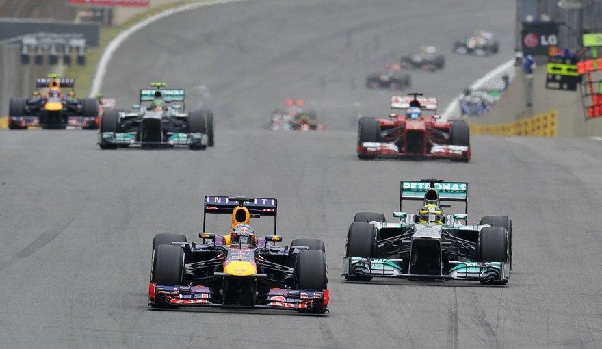 Sebastianas Vettelis ir Nico Rosbergas