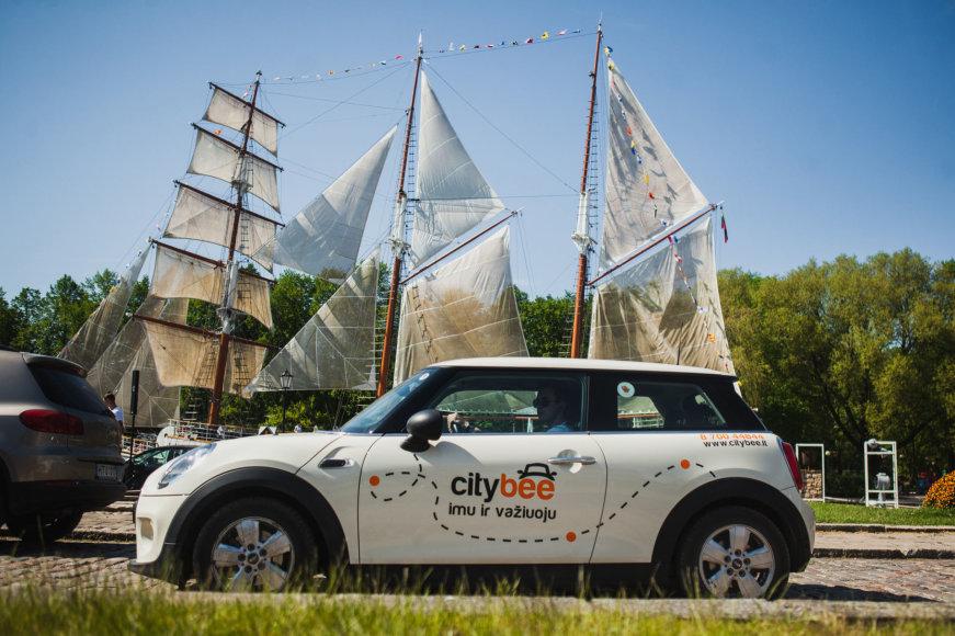 """""""CityBee"""" startuoja pajūryje"""