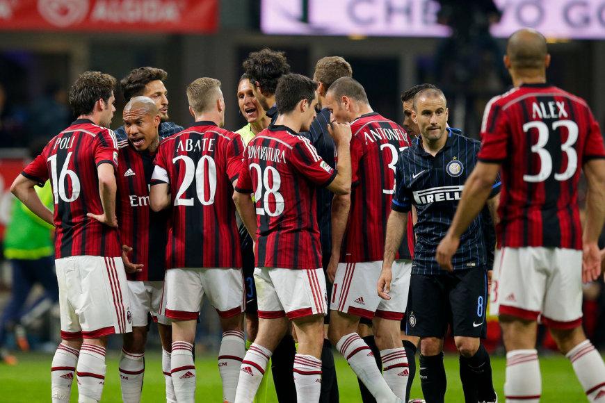 """Milano""""\ futbolo klubai išgyvena itin sunkius laikus"""