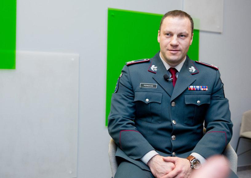 15min studijoje — policijos generalinis komisaras Linas Pernavas