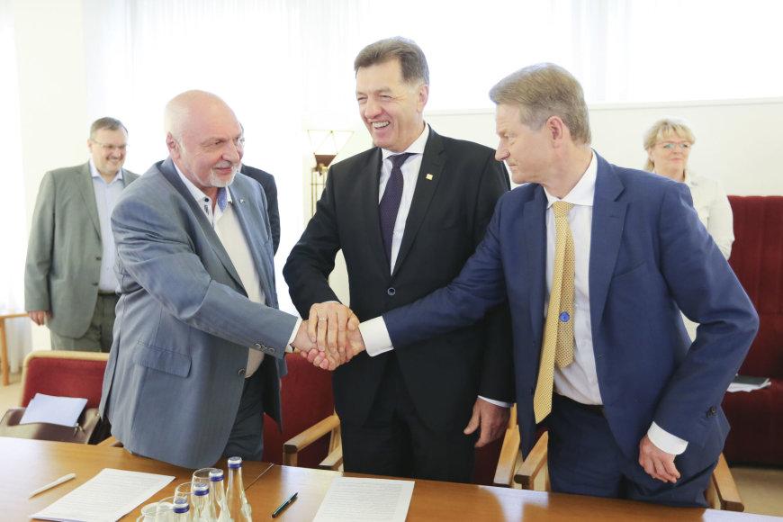 Valentinas Mazuronis, Algirdas Butkevičius ir Rolandas Paksas