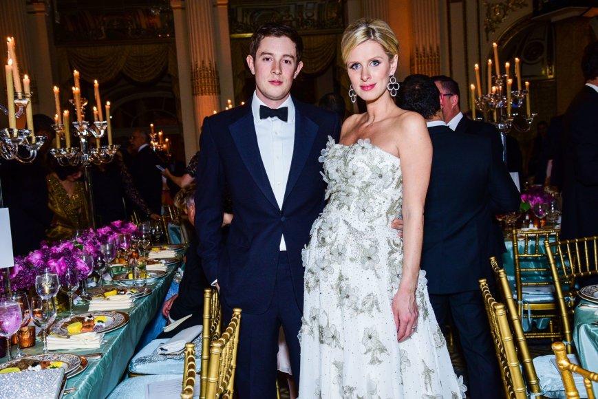 Nicky Hilton ir Jamesas Rothschildas