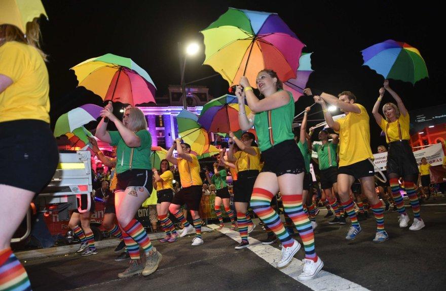 Pernykštis Sidnėjaus homoseksualų Užgavėnių paradas
