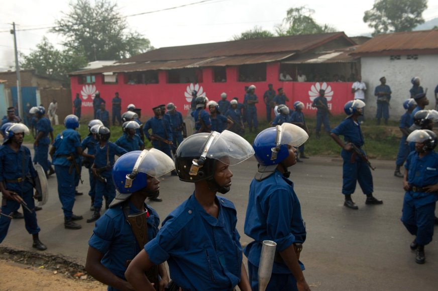 Susirėmimai Burundyje
